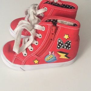 Other - Red Minnie Mouse Sneakers